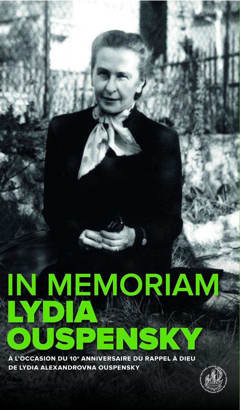 """""""In memoriam Lydia Ouspensky"""". Un livre collectif sous la direction d'Émilie van Taack"""