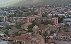 Le patriarche Elie de Géorgie s'est rendu à Gori avec le concours de l'Eglise orthodoxe russe