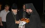 Le métropolite de Kiev en visite à Odessa