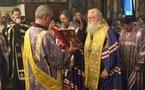 L'évêque Michel d'Europe occidentale a rendu visite à l'église des Trois-Saints-Docteurs à Paris