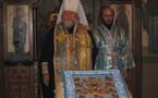 Le primat de l'Eglise russe hors frontières a visité l'église des Trois-Saints-Docteurs à Paris