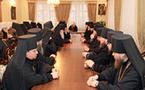 Les évêques ukrainiens proposent comme candidat au siège patriarcal de Moscou le métropolite Vladimir de Kiev