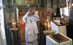 Mgr Innocent a présidé à Sainte-Geneviève-des-Bois les obsèques de Madame A. Mechtcherski