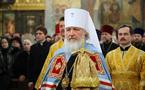 """Mgr Cyrille: """"L'Eglise ne doit pas s'immiscer dans la politique, mais annoncer la vérité de Dieu"""""""
