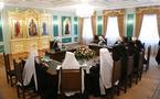 Dernière réunion du Saint-Synode de l'Eglise orthodoxe russe avant le début du concile