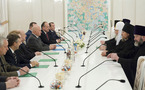 Le patriarche Cyrille a rencontré le maire de Moscou