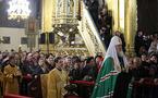 Le patriarche Cyrille remercie le président Nicolas Sarkozy pour son message