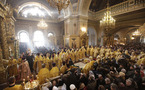 Le patriarche Cyrille et le métropolite Christophe de Prague ont célébré une liturgie commune