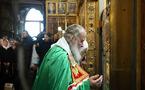 Le patriarche Cyrille a adressé une lettre de condoléances au pape Benoît XVI