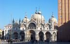 Liturgie orthodoxe sur les reliques de saint Marc à Venise