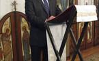 Les orthodoxes de Paris prient pour le repos d'André Malinine