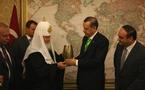 Le patriarche Cyrille a rencontré le premier ministre turc