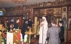 Le patriarche Daniel de Roumanie a visité l'église des Trois-Saints-Docteurs