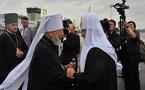 """Le patriarche Cyrille commence son """"pèlerinage"""" en Ukraine"""