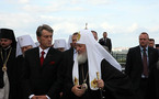Le patriarche Cyrille remercie le président ukrainien pour son accueil