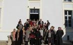 Visite des paroissiens des Trois-Saints-Docteurs au séminaire orthodoxe russe
