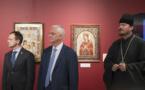 Le Centre culturel et spirituel orthodoxe russe à Paris acceuille l'exposition « La peinture à l'aiguille»