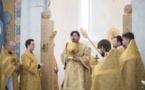 Célébration eucharistique de l'avant-fête de l'Exaltation de la Croix