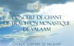 Le choeur du monastère de Valaam donnera un concert de musique sacrée à la cathédrale de la Sainte-Trinité à Paris