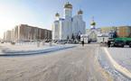 Consécration d'une nouvelle cathédrale dans la capitale du Kazakhstan