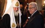 Le patriarche Cyrille a reçu Mahmoud Abbas