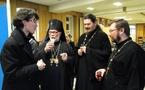 Une délégation du séminaire russe a participé à la séance solennelle de l'institut Saint-Serge