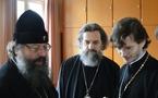L'archevêque de Yaroslavl a visité le séminaire russe d'Epinay-sous-Sénart