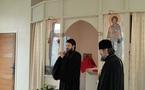 Le métropolite Hilarion de Volokolamsk a visité l'église des Trois-Saints-Docteurs et le Séminaire russe