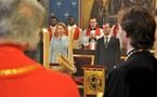 Le président russe a vénéré la Couronne d'épines à Notre-Dame de Paris