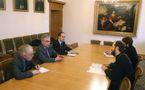 Le conseiller aux affaires religieuses du ministère français des affaires étrangères a rendu visite au patriarcat de Moscou