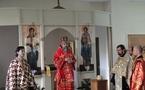 Mgr Innocent a présidé les vêpres de Pâques au Séminaire russe