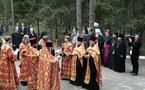 Des représentants de l'Eglise orthodoxe russe à la commémoration de la tragédie de Katyn