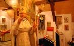Célébrations pascales au monastère de Dompierre et à l'abbatiale de Payerne, en Suisse