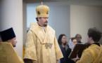 Mgr Nestor a célébré la Divine Liturgie du dimanche du Jugement dernier en la cathédrale de la Sainte Trinité
