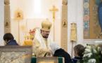 Mgr Nestor a célébré la Divine Liturgie le jour du Triomphe de l'Orthodoxie