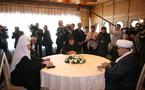 Le patriarche arménien et le chef des musulmans du Caucase se rencontrent à Bakou en présence du patriarche de Moscou