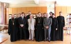 Visite au Séminaire des responsables des cultes du Ministère de l'intérieur et du Ministère des affaires étrangères