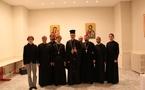 Les séminaristes russes se sont rendus à la liturgie à la cathédrale grecque de Paris