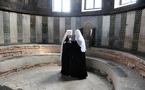 Le patriarche de Moscou et le métropolite de Kiev célèbrent un office à Sainte-Sophie de Kiev