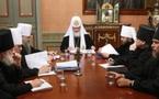 Première réunion des présidents des commissions synodales du patriarcat de Moscou