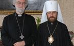 Mgr Hilarion a rendu visite au primat de l'Eglise d'Angleterre