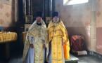 Suisse : le père Augustin Sokolowski a célébré une Liturgie dans le canton du Valais