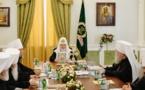 Monseigneur Nestor, évêque de Chersonèse, a pris part à la réunion du Saint Synode qui s'est tenue à Ekaterinbourg
