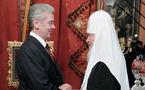 Le nouveau maire de Moscou rend visite au patriarche Cyrille