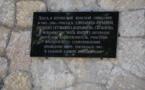 Une plaque à la mémoire de Mère Marie (Skobtsov) a été inaugurée à Yalta