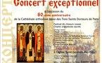 Concert de musique liturgique russe à l'église Saint-Germain-des-Prés à Paris le 10 février 2011
