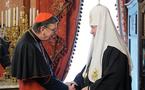Le patriarche Cyrille a reçu le président du Conseil pontifical pour la promotion de l'unité des chrétiens