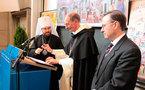Le métropolite Hilarion devenu professeur de l'Université de Fribourg
