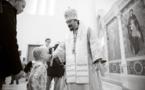 Mgr Nestor a célébré la Divine Liturgie en la cathédrale de la Sainte-Trinité à Paris