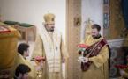 La Liturgie pontificale a été célébrée en la cathédrale de la Sainte Trinité